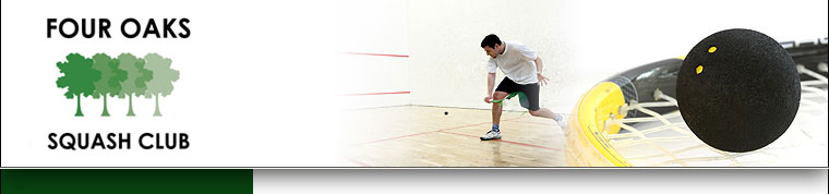 Four Oaks Squash Club - Sutton Coldfield, West Midlands